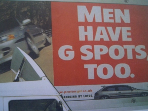 Men Have G-spots too. (London)