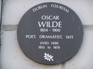Oscar Wilde lived here