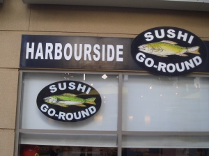sushi-go-around, Bondi Beach
